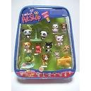 Littlest Pet Shop Pack of 10 Ten Pets with Extremely Rare Panda Twins