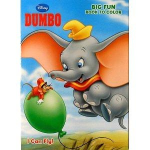 Disney&s Dumbo Coloring Book I Can Fly, Page Big Fun Book to Color