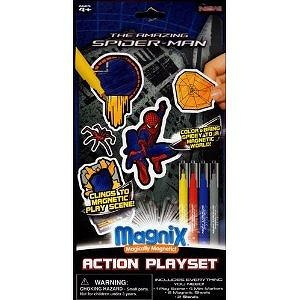 The Amazing Spider-Man Magnix Magnetic Action Playset