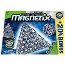 Magnetix 150 Piece Metallic Silver Set
