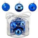 Disney Shatterproof Blue Mickey Mouse Ornaments -- 12-Pc.