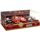 Disney / Pixar CARS TOON Exclusive 148 Die Cast 4Pack Rescue Squad Mater Lightning McQueen, Firetruck Mater, Rescue Squad Polic