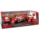 Disney / Pixar CARS 2 Movie Exclusive Limited Edition 3Piece Die Cast Set Lightning McQueen with Mia Tia