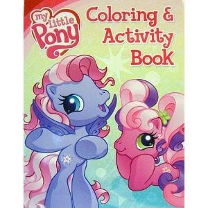 My Little Pony Coloring Book And Activity