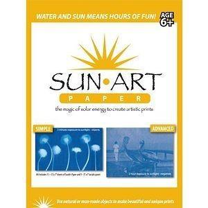 "Sun Art Paper - 15 Sheets of 5"" X 7"" Paper"