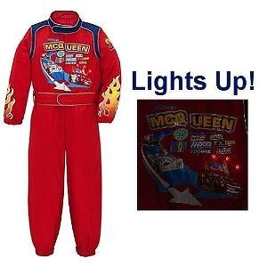 Disney Store Cars 2 Light Up Lightning McQueen Halloween Costume Racing Suit for Boys Size Large 10  sc 1 st  Toys to learn by & Disney Store Cars Light Up Lightning McQueen Halloween Costume ...