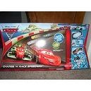 Disney / Pixar CARS 2 Movie Exclusive Charge Ups Track Set Charge N Race Speedway