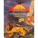 Disneys The Lion King Fighting Action Adult Simba