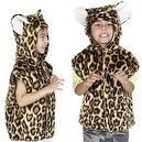 Leopard T-shirt Style Costume for Kids