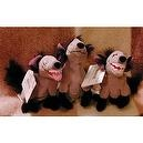 Disneys Set of 3 Lion King Hyena Banzai, Ed and Shenzi 8""