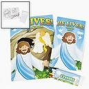 HE LIVES COLORING SET (1 DOZEN) - BULK