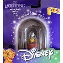 Disney LION KING Magical Miniatures RAFIKI & SIMBA Figure PRIDE ROCK Series 1 of 4 (1999)
