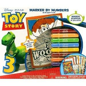 Giddy-up Marker By Number Boxed Activity Kit (Toy Story)