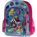 Childrens Art Color Your Own School Bag With 8 Markers