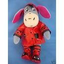 "Winnie the Pooh Rainy Day Eeyore in Lady Bug Slicker Poncho 8"" Beanie Doll"