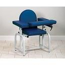 CLINTON LAB X SERIES BLOOD DRAWING CHAIRS Uph seat & flip arms Item# 6010-F  CLINTON LAB X SERIES BLOOD DRAWING CHAIRS Uph seat