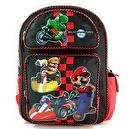"16"" Super Mario Brothers Backpack-Yoshi Riding-tote-bag"