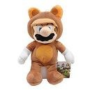"Sanei Officially Licensed Super Tanooki 11"" Mario Plush, Medium"