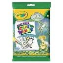 Crayola Disney Fairies Mess Free Color Wonder Coloring Book with Markers