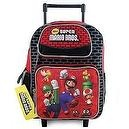 "12"" Super Mario Bros Rolling Backpack"