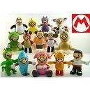 "Hard to Find Adorable Nature Series 15 Piece Wild Animal Super Mario Brothers 3"" Figure Set Featuring Chicken Mario, Penguin Ma"