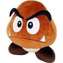 "Sanei Super Mario Plush Series Plush Doll 12"" Deluxe Goomba Plush"