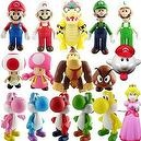 Super Mario Bros PVC Figure Collectors Set of 16