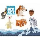 "Ice Age Continental Drift 13"" Plush Set Featuring Sid, Scrat, Acorn, Diego and Shira"