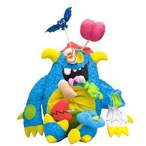 Feature Gross Out Doodle Monster - Blue
