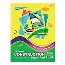 Bazic Construction Paper Pad, 9 x 12 Inches, 32 Sheets (Case of 48)