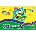 Bazic Mini Construction Paper Pad, 6 x 9 Inches, 64 Sheets (Case of 48)