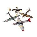 LARGE WAR PLANE GLIDERS (1 DOZEN) - BULK