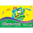 Bazic Construction Paper Pad, 18 x 12 Inches, 16 Sheets (Case of 48)