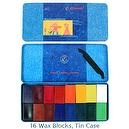 Stockmar Beeswax Block Crayons - Set of 16