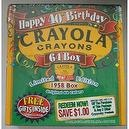 Crayola Crayons Happy 40th Birthday Limited Edition 64