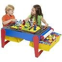 Cra Z Art 6 In 1 Wooden ChildrenS Activity Play Table