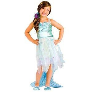 Girls Mermaid Costume - Child Small Girls Mermaid Costume