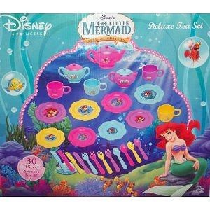 Disney Little Mermaid Special Edition Deluxe Tea Set with 30 Pieces