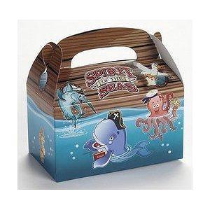 12 Pirate Theme Spirit of the Seas Treat Boxes