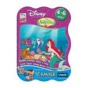 Disney Princesas - La Sirenita Spanish Vsmile Cartridge