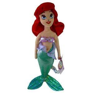 "- Disney Princess Ariel The Little Mermaid 17"" Plush Doll"