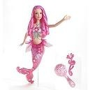 Barbie Fairytopia Pink Color Change Mermaid Doll