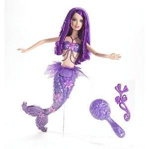 Barbie Fairytopia Purple Color Change Mermaid Doll