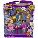 Polly Pocket Cupcake Party Mini-Figure Playset
