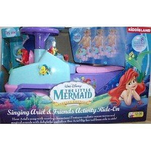 Walt Disney the Little Mermaid Singing Ariel and Friends Activity Rider Ride On