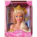 Jewel Hair Mermaid Barbie Styling Head