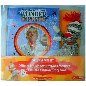 Mr. Magoriums Wonder Emporium Exclusive Gift Set Sock Monkey & Book