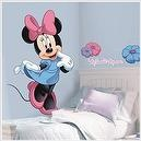 Minnie Mouse and Friends Bowtique Disney Mega Decal Pack - Includes 1 Giant Wall Decal (8 Pieces) and 33 Bow-tique Wall Decals