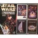 Disney Parks Star Wars 4 Poster Puzzle - Disney Parks Exclusive & Limited Availability