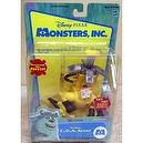 Red Alert Monsters Inc. C.D.A. Child Detection Agency Interactive Figure Doll with Decontamination Pack Pops Up